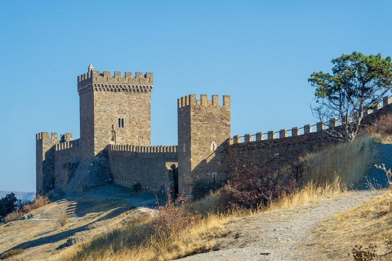 Судак крепость, генуэзская скала, Судакphoto preview