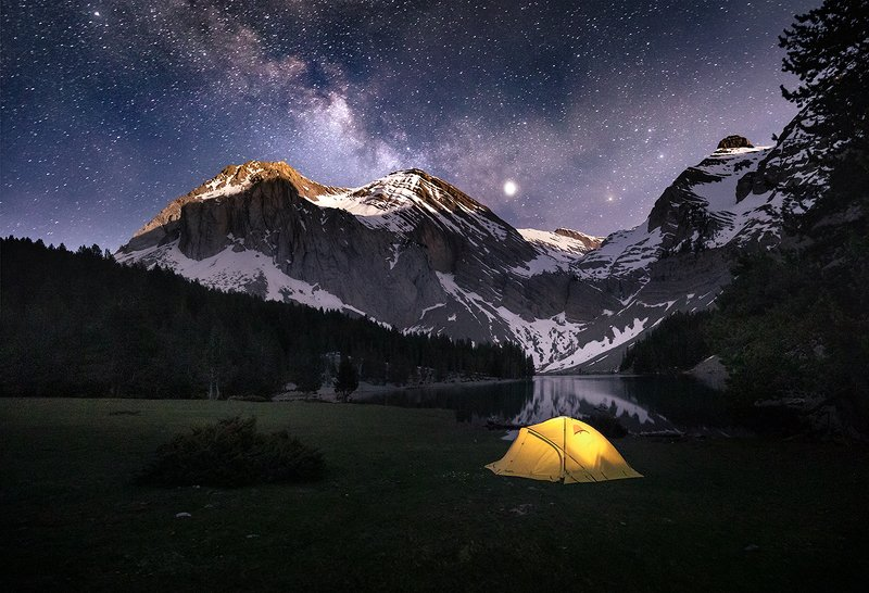 Night in Pyreneesphoto preview