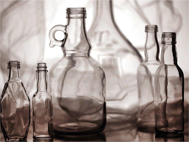 стекло, бутылка, бутылки, натюрморт, photo preview