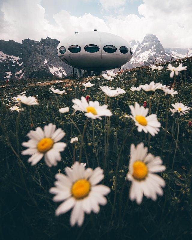 кавказ, домбай, кчр Кавказское НЛОphoto preview