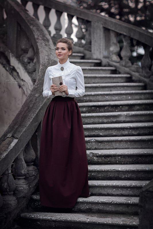 портрет красота девушка арт Элизабет Беннетphoto preview