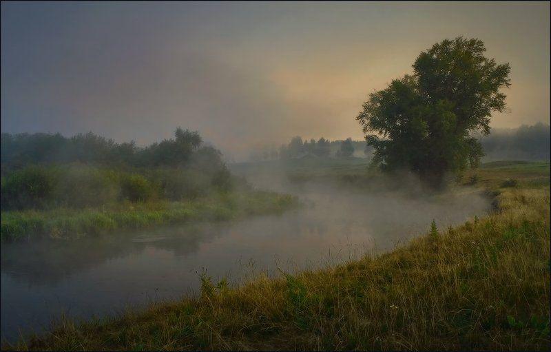 река, река миасс,  южный урал, seti, сергей тишкевич На речке встречая рассвет_3photo preview