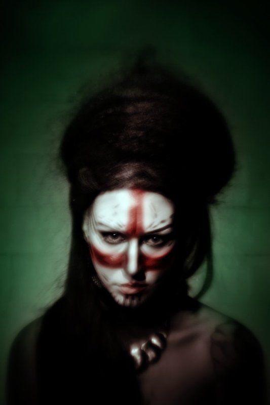 портрет, арт tribal portraitphoto preview