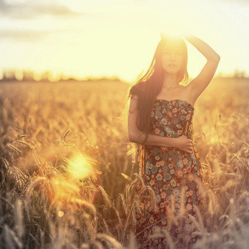 портрет, девушка, лето ***photo preview