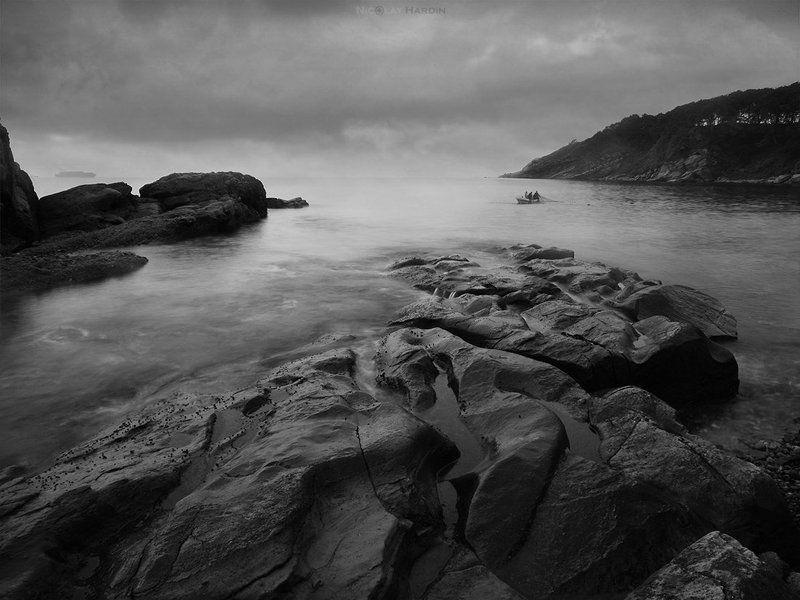 камни, море, длинная, выдержка Stonesphoto preview