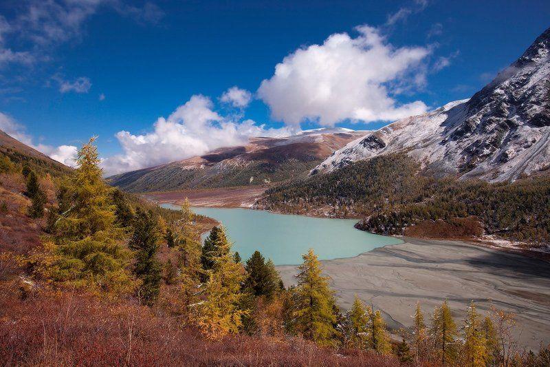 алтай, горный алтай, горы, пейзаж, осень, аккемское озеро Аккемское озероphoto preview