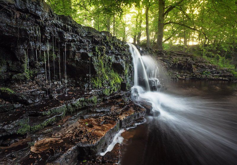 водопад, ивандес, река, ренда Водопад Ивандесphoto preview