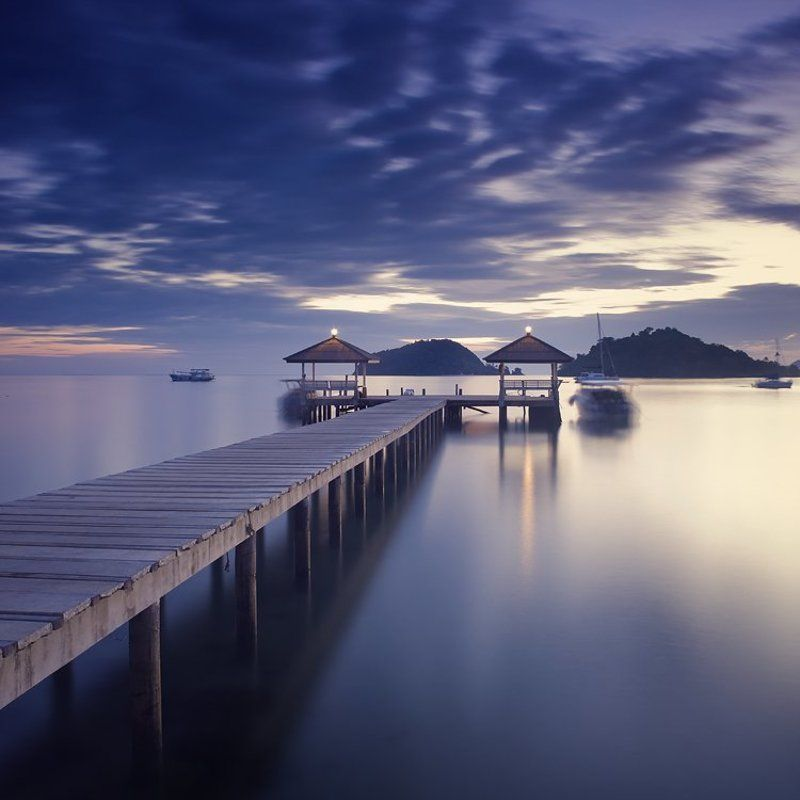 cokin, color, nd110, travel, тайланд, pier, longexposure, yury bird, ко-mak, twilight, nikon Pier at twilightphoto preview