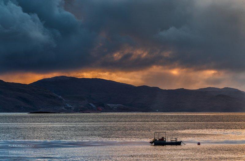 Озеро, дождь, Шотландия...photo preview