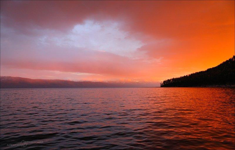 байкал Байкальские рассветы и закатыphoto preview