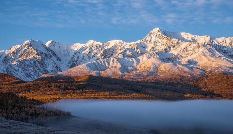 горы. осень. алтай. Северо-Чуйский хребет.photo preview