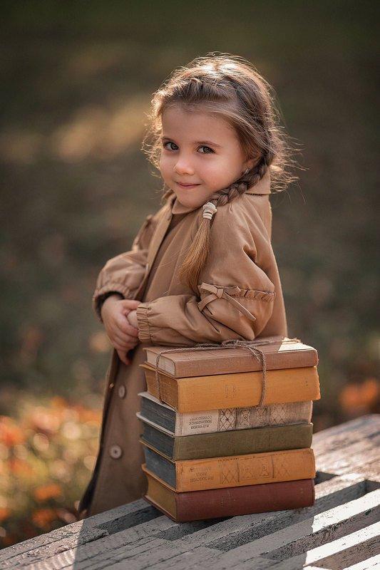 осень, осенний портрет, детский портрет, детский фотограф photo preview