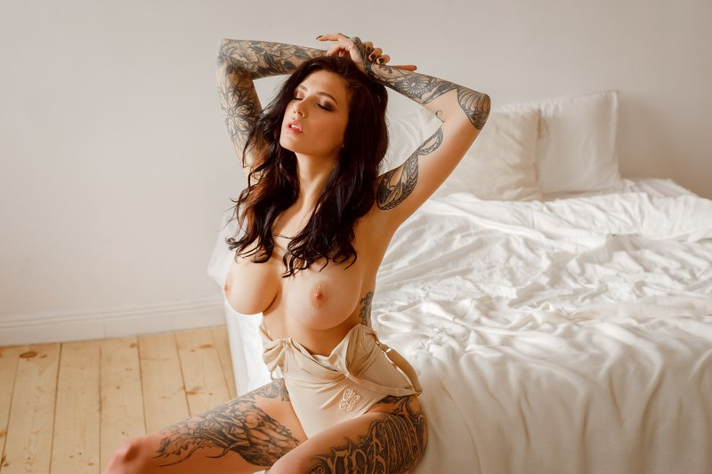 ню, nude, портрет, 50mm ****photo preview