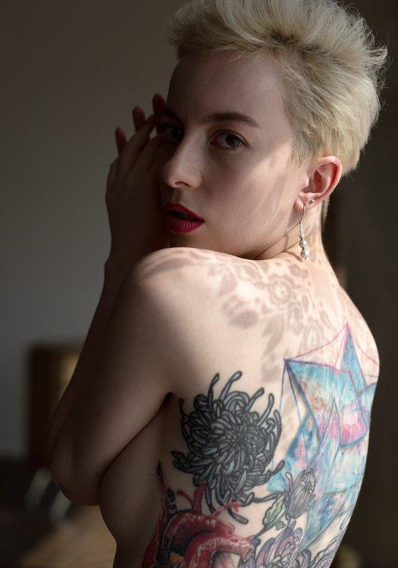 ню, портрет, портретная фотография, женский портрет, обнаженная натура Зельдаphoto preview