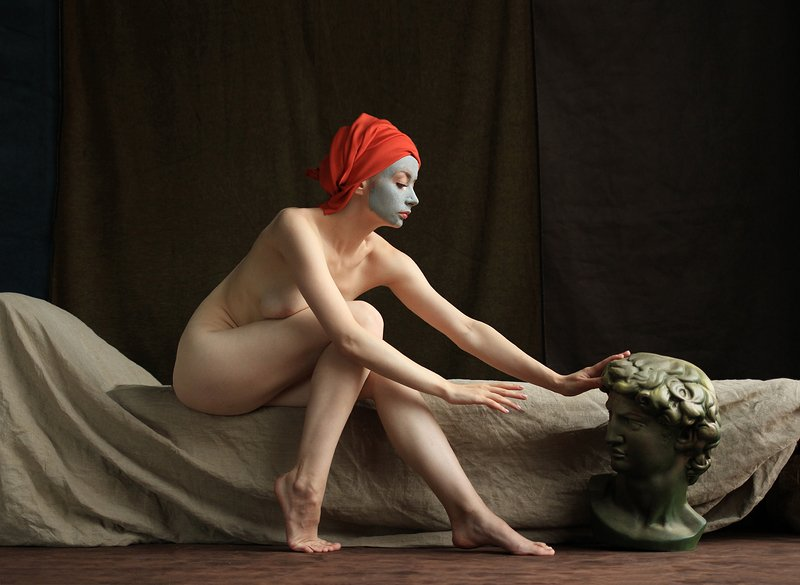 fine art nudes Падение Давидаphoto preview