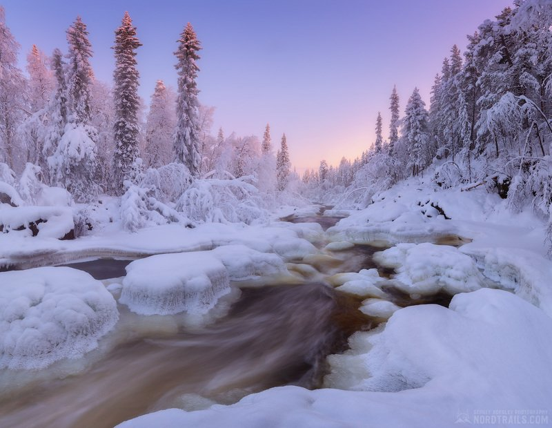 кольский, кольский полуостров, зима, winter, snow, north Ноябрь на Кольскомphoto preview