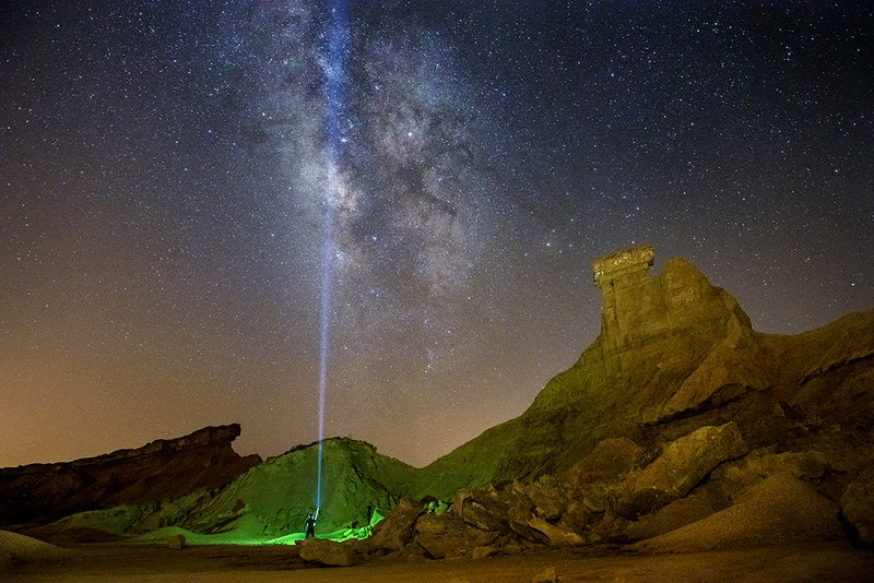 Milkyway , landscape , travel , iran , nightphotography , night Milky Wayphoto preview