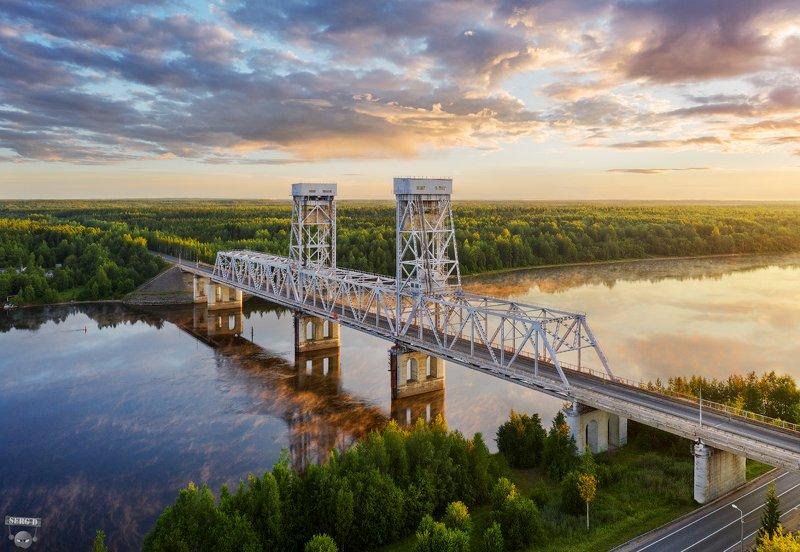 Мост через реку Свирь около Лодейного поляphoto preview