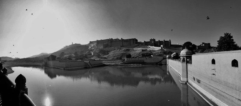 Jaipur , Dhiraj Goswami , Dhiraj Goswami Photography , city black and white  Jaipurphoto preview