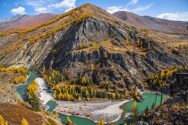 алтай. осень. горы. Осень на Алтае.photo preview
