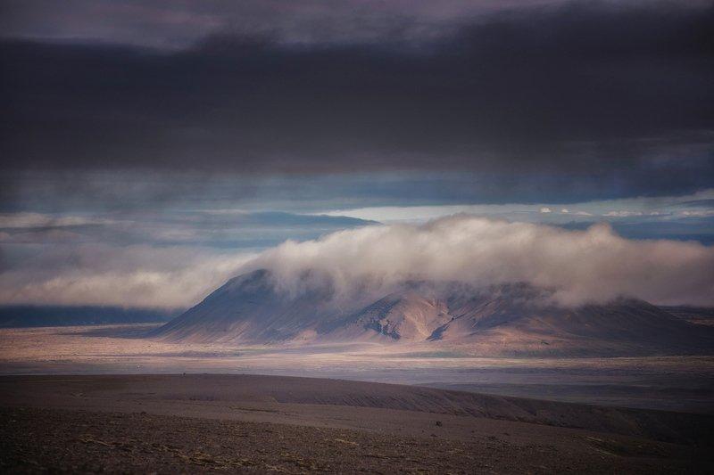 исландия укутавшись в перину облаковphoto preview