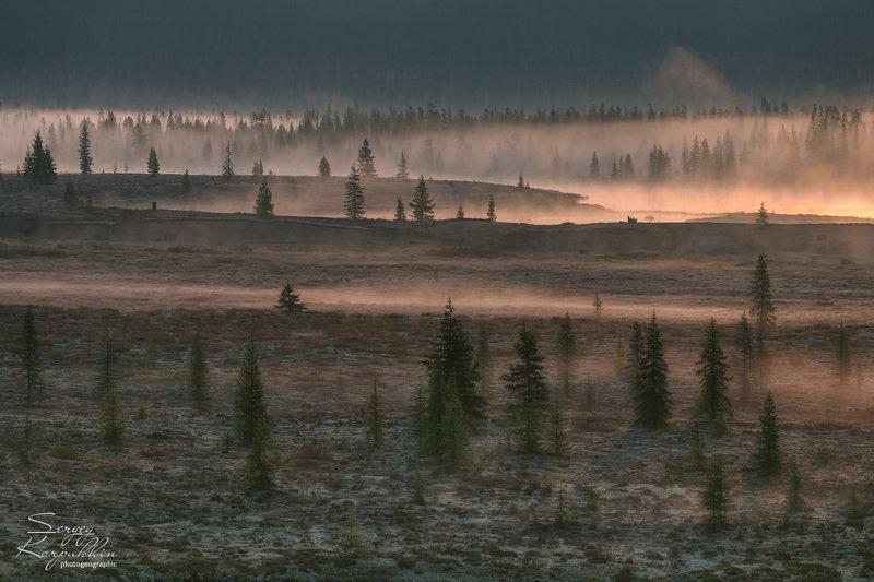 колыма, магадан, Утро в Колымских краях.photo preview