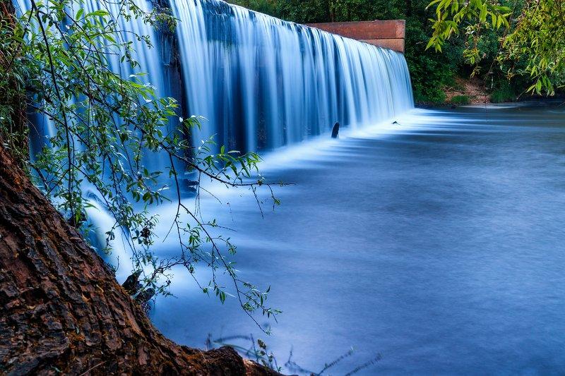 пейзаж, водопад Реки временphoto preview
