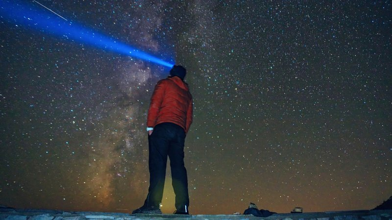 горы, звезды, sunset, cyprus, landscape Наслаждение звездамиphoto preview
