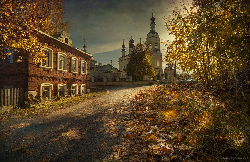 плёс,осень,город Осень в Плёсеphoto preview