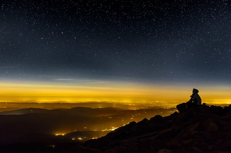Night in the mountainsphoto preview