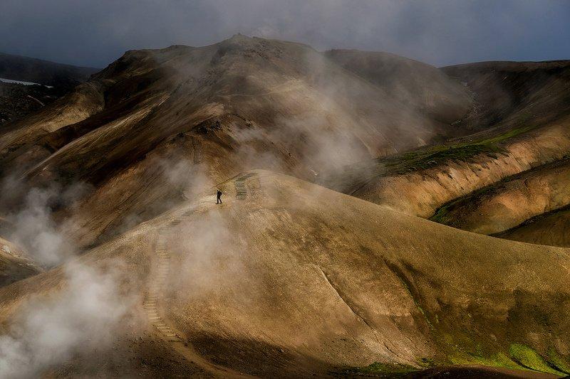 iceland, исландия, kerlingarfjöll, высокогорье исландии, icelandic highlands, highlands of iceland Затерянный мир. Высокогорье Исландии. Kerlingarfjöllphoto preview
