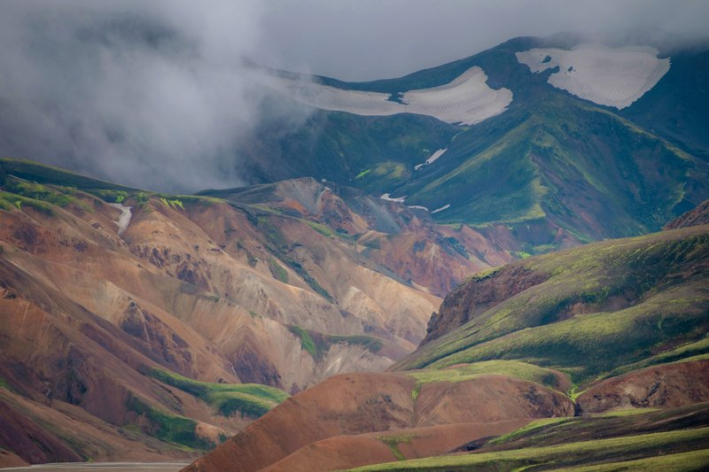 исландия,ландманналаугар,landmannalaugar я леплю из пластилина...photo preview