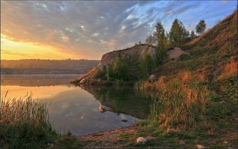 рассвет, мраморный карьер, южный урал, seti, сергей тишкевич С первыми лучамиphoto preview