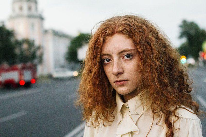 портрет девушки,девушка,portrait girl Незнакомка.photo preview