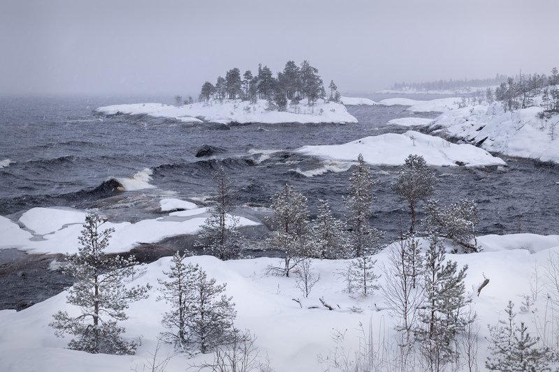 зимняя ладога, шхеры зимой, карелия, фототур \