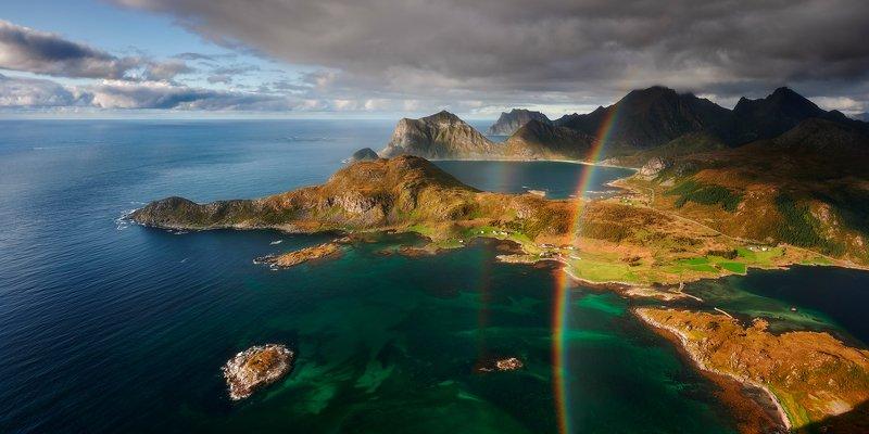 reine, lofoten, landscapes Offersøykammenphoto preview
