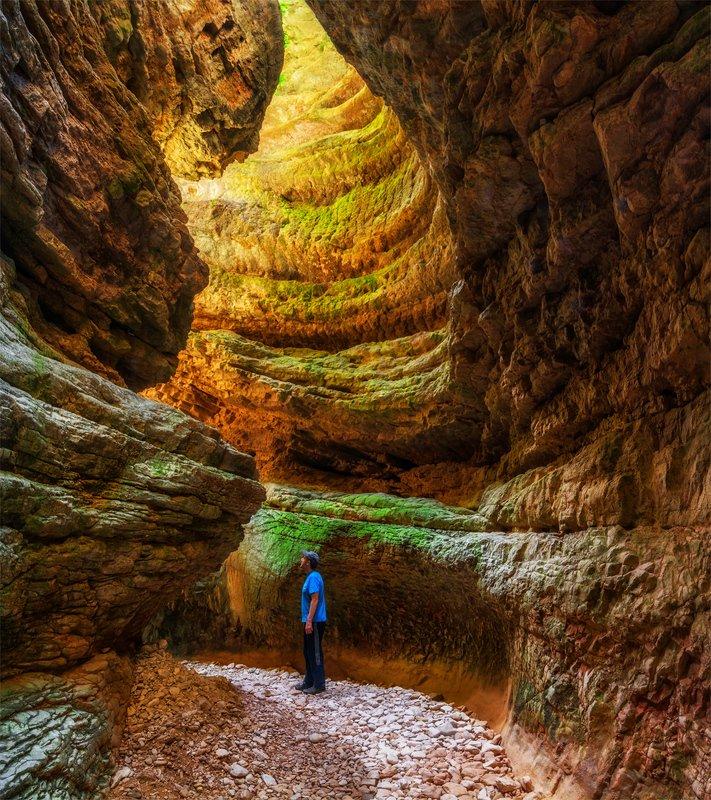 природа, пейзаж, горы, кавказ, природа россии, каньон, ущелье, В теснинеphoto preview