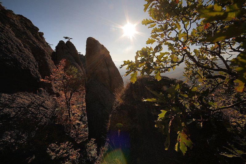 крым, горы, осень, демерджи Демерджи в осеннем нарядеphoto preview
