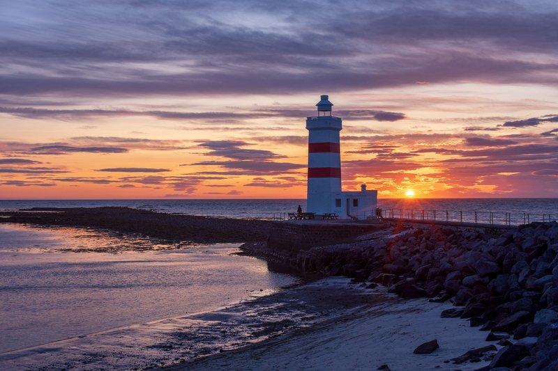 iceland,исландия,маяк,lighthouse lighthouse Garðskagavitiphoto preview