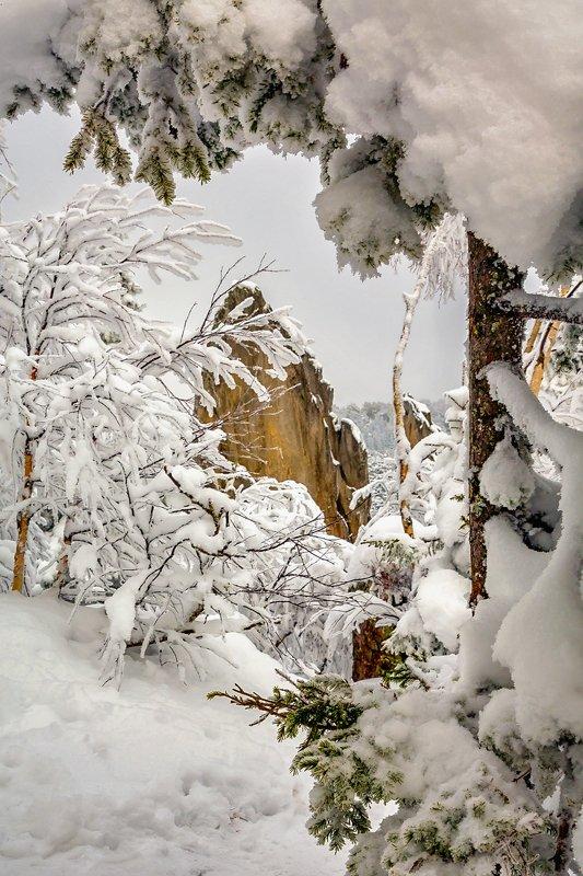 южный урал Зимний пейзажphoto preview