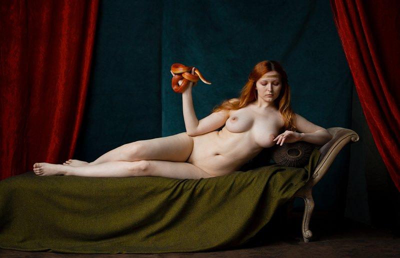fine art nudes Мой нежный и ласковый зверь :)photo preview