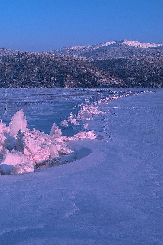 алтай, телецкое озеро, зима, февраль, яйлю, лёд Царство Снежной королевыphoto preview