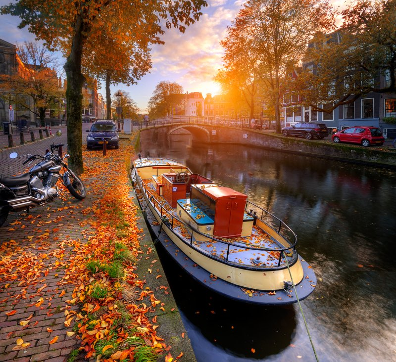 осень в амстердаме... photo preview