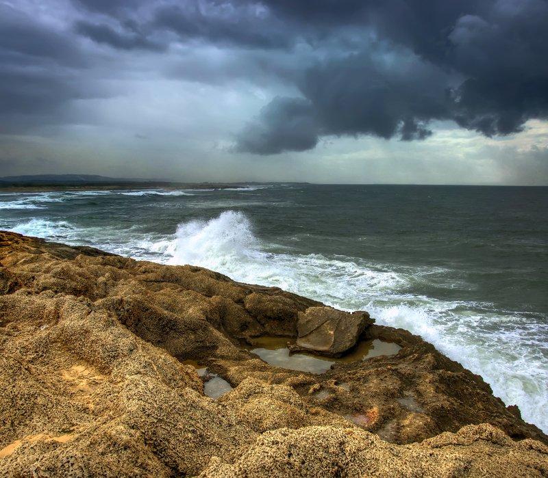 Тучи над морем.photo preview