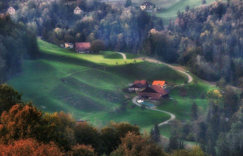 швейцария, альпы, горы Швейцарские зарисовкиphoto preview