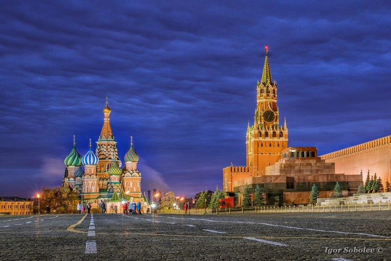 красная площадь, москва, утро, red square, moscow, morning Утро на Красной площадиphoto preview