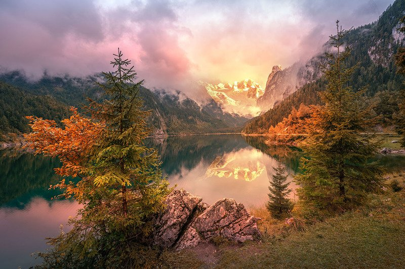 Рассвет в Австрииphoto preview