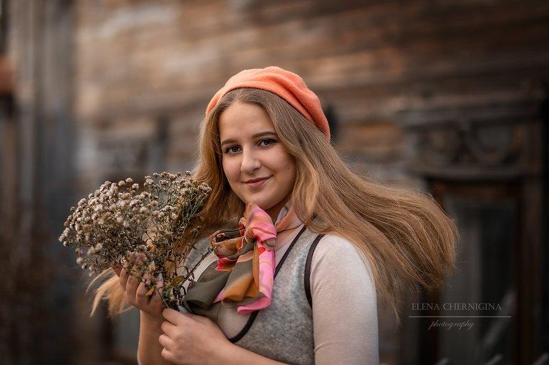 девушка, гимнастка, портрет, осень, девушка осенью, фотосессия на улице, мерри поппинс Гимнасткаphoto preview