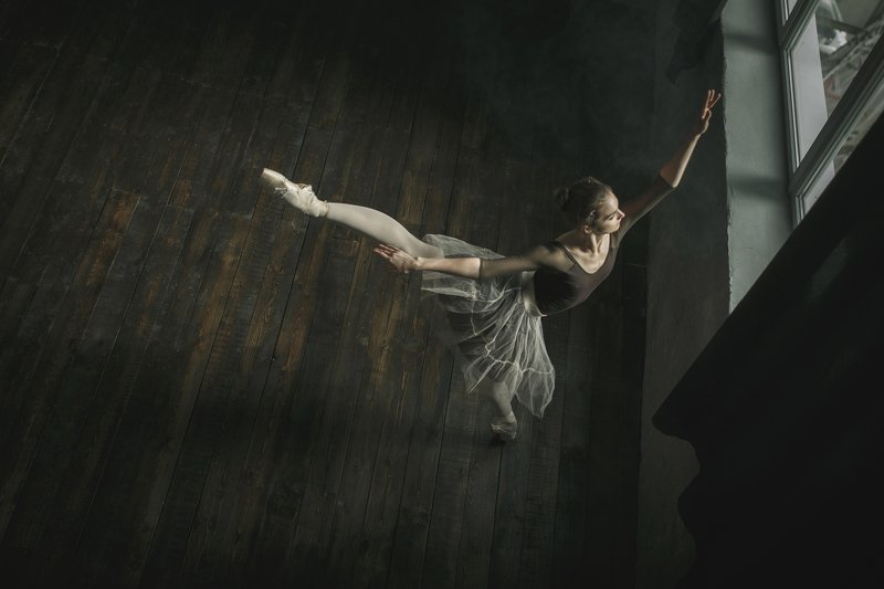 балет балерина студийная съемка танец балетphoto preview