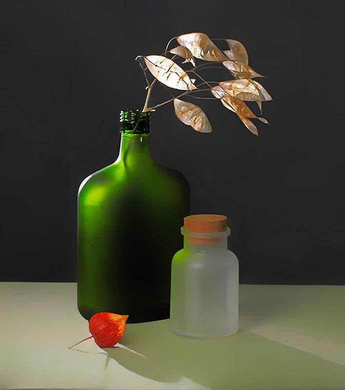 зелёная бутылкаphoto preview